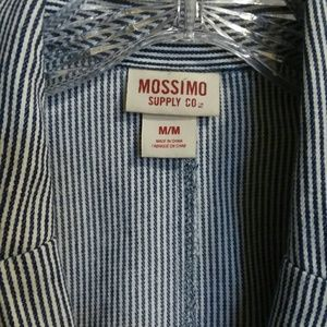 Mossimo Supply Co. Jackets & Coats - Hickory Stripe railroad stripe blazer sz M